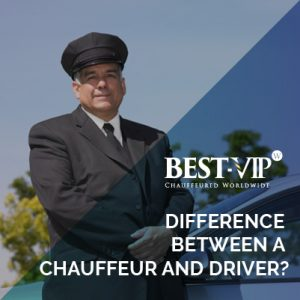 Crucial differences that separate a chauffeur from a driver