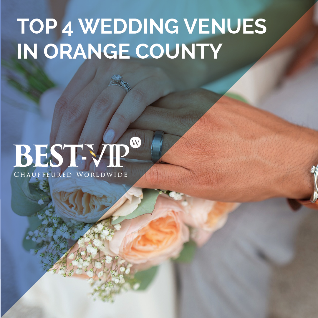 Top 4 Wedding Venues