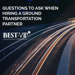 Hiring a ground transportation provider you can trust